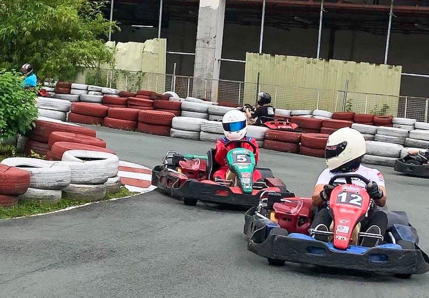 Kart Racing in Circuit Makati