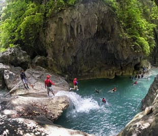 Cebu Kawasan Falls Canyoneering Shared Day Tour | With Transfers