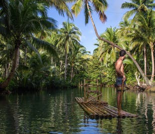 Siargao Sugba Lagoon, Magpupungko, Maasin Coconut Forest & River Day Tour   With Lunch