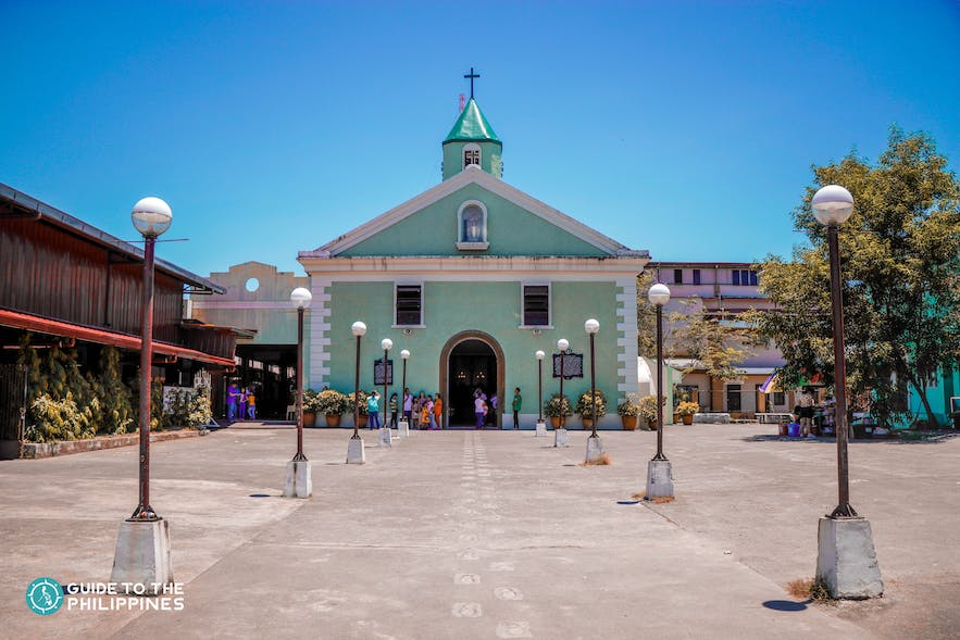 The San Luis Obispo de Tolosa Parish, also known as Baler Church, is in Aurora, Philippines