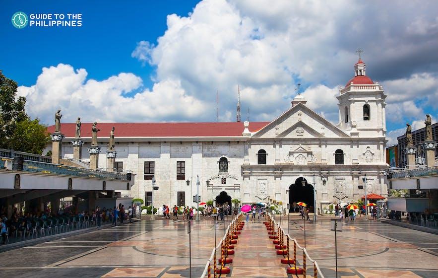 Basilica del Santo Niño in Cebu City, Philippines