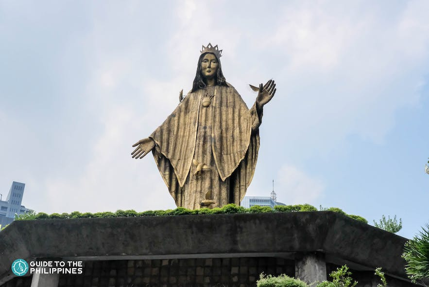 Our Lady of EDSA Shrine in Quezon City, Philippines