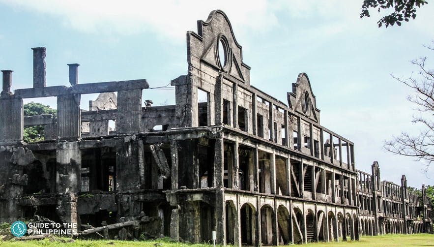 The Ruins of Corregidor Island in Bataan