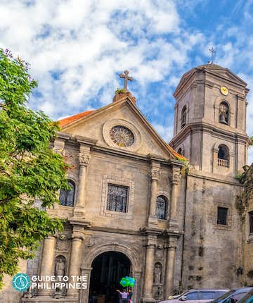 San Agustin Church was the only building left intact after the destruction of Intramuros in WWII.