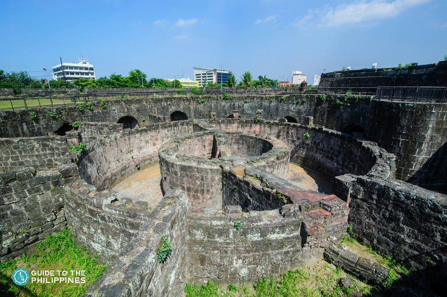 Baluarte de San Diego was an ace of spades bastion built in Intramuros