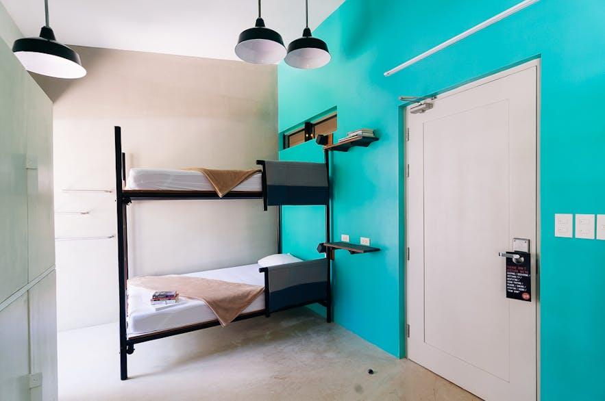 Mixed Room at SPIN Designer Hostel in El Nido, Palawan