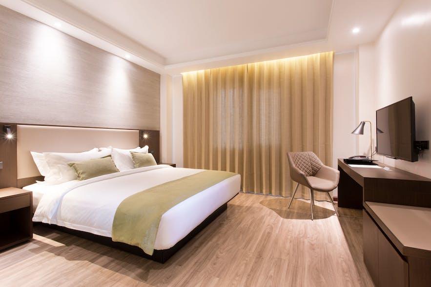 Deluxe King room in The Marison Hotel, Legazpi