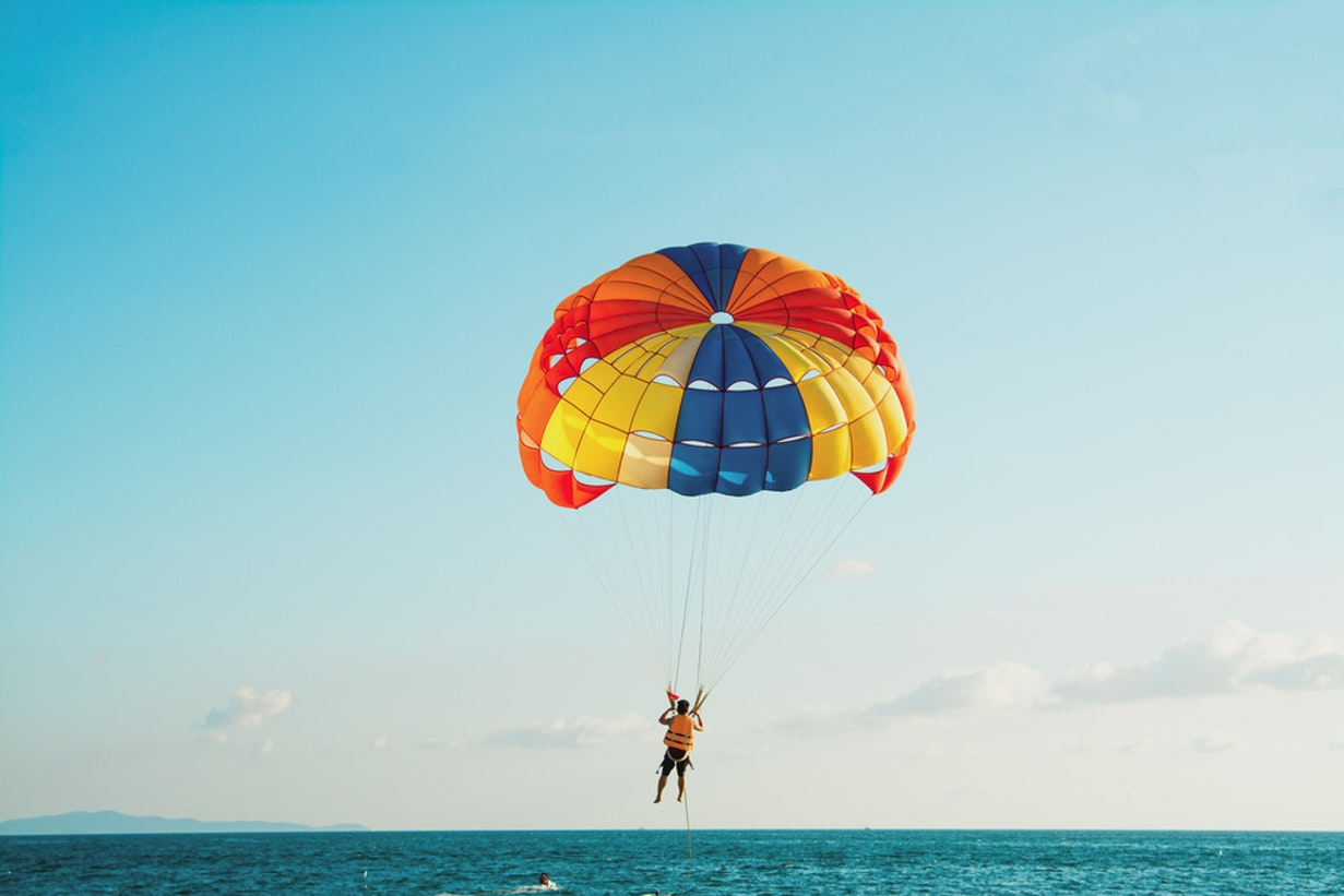 Boracay Parasailing Experience | With Land & Boat Transfers