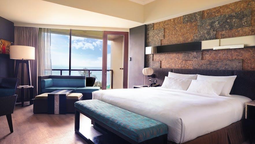 Deluxe Ocean View room in The Bellevue Resort, Bohol