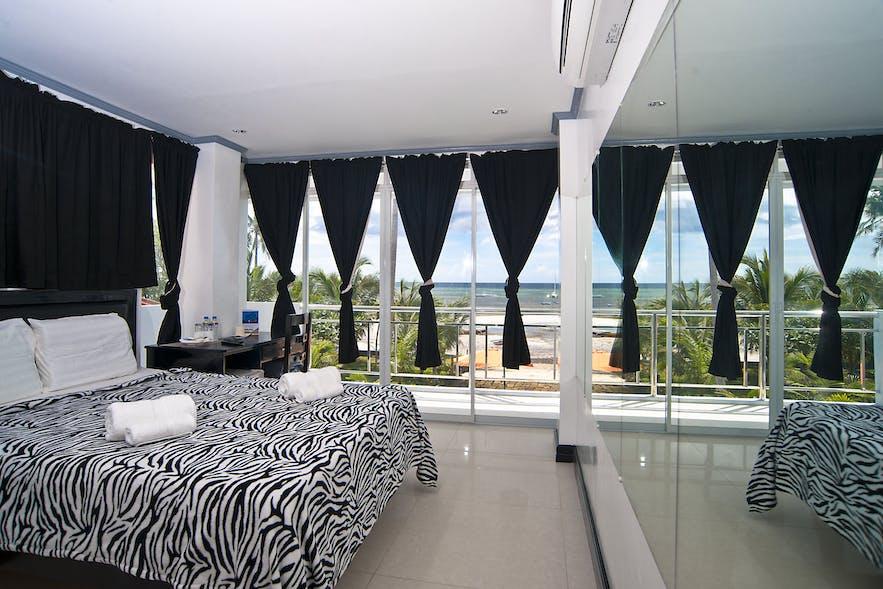Deluxe Ocean View room in Bohol South Beach Hotel