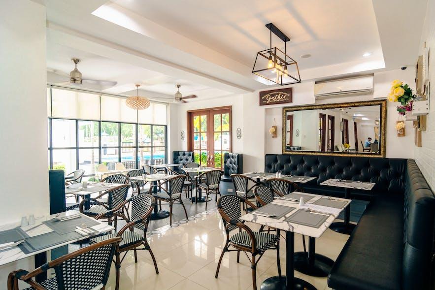 Hotel restaurant in The Mansion, Pampanga