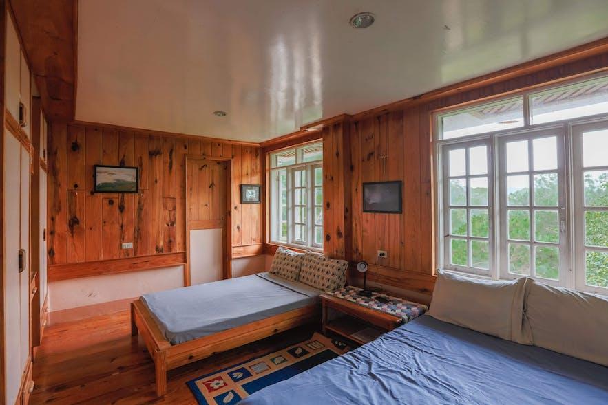 bedroom for 4 in Inandako's BNB, Sagada Mountain Province