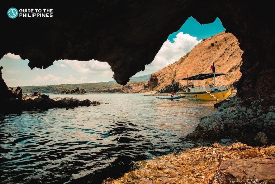 Hidden Cove at Five Fingers in Mariveles, Bataan