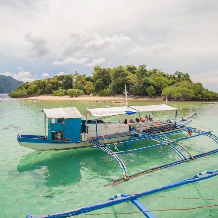 Boat for Coron Palawan Island Hopping