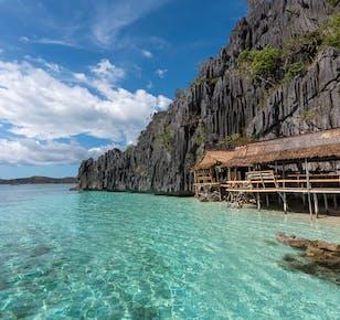 Coron Palawan Island Hopping Tour B   With Buffet Lunch & Snacks