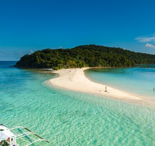 Coron Palawan Island Hopping Tour C   With Buffet Lunch & Snacks