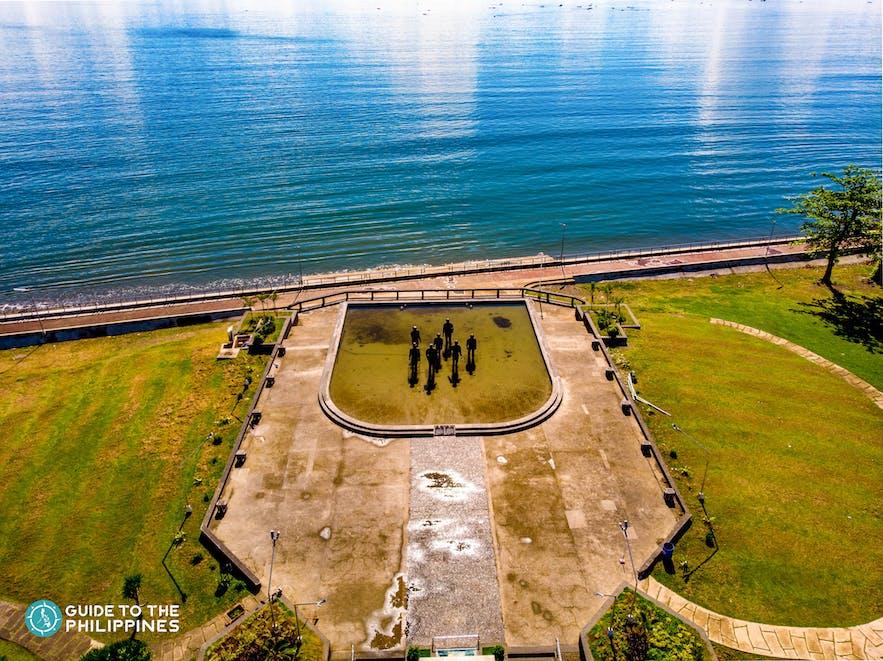 MacArthur Landing Memorial Park in Leyte, Philippines