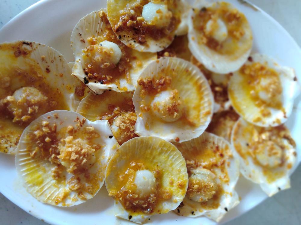 Cheap scallops in Roxas Capiz