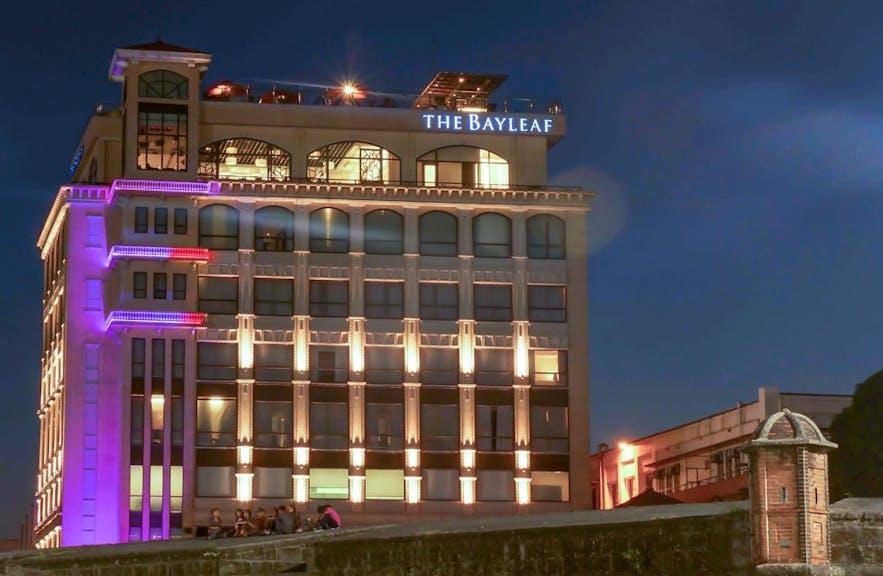 facade-of-bayleaf-hotel-intramuros-in-manila-philippines