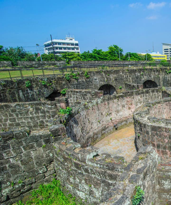 "Baluarte de San Diego in the ""Walled City"" of Intramuros"