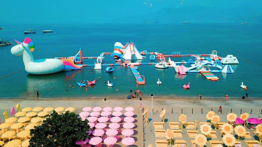Inflatable Island, Subic