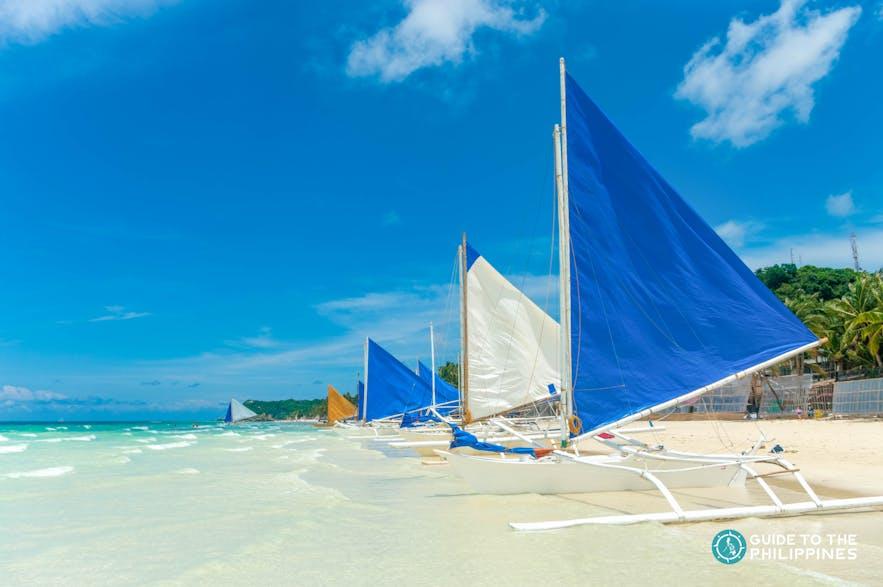 Paraw Sailing, Boracay