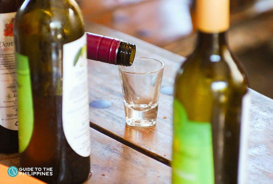 Local wine, La Union