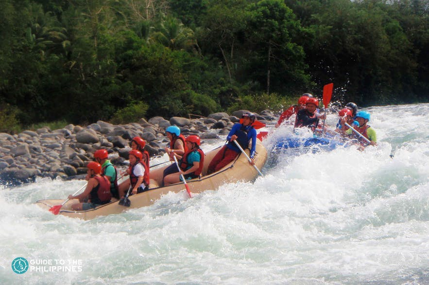 Whitewater rafting, Cagayan De Oro