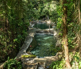 Hidden Valley Springs Laguna Day Tour with Lunch & Transfers from Manila