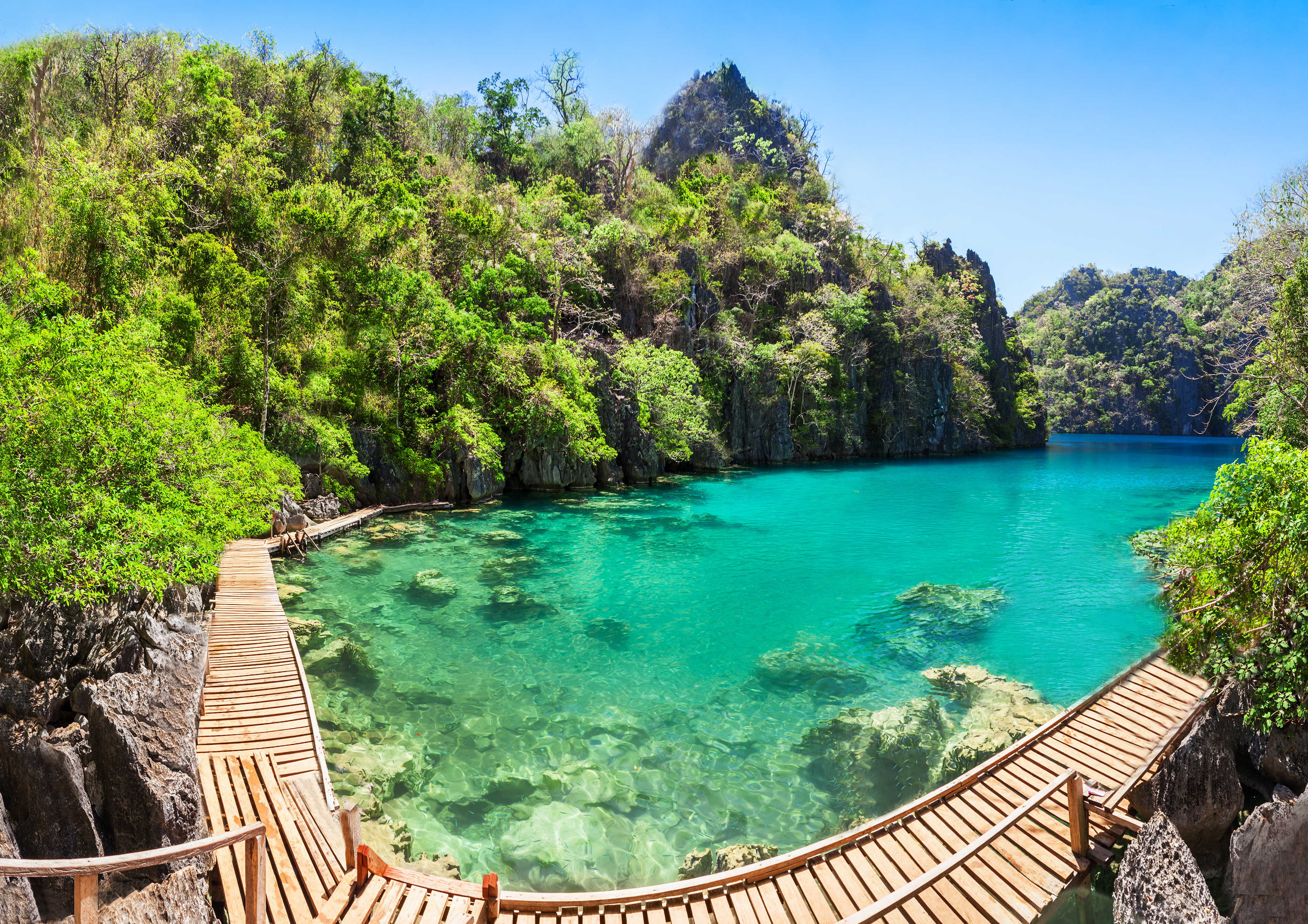 4 Days 3 Nights Coron to El Nido Boat Expedition Tour - day 1