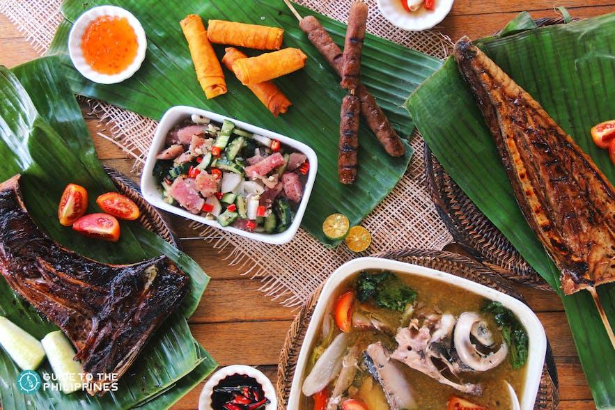 Local cuisine in the Philippines