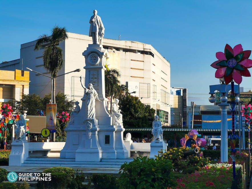 Plaza Rizal in Zamboanga City