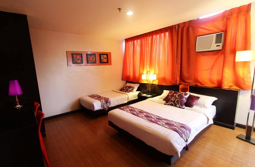 Deluxe room at Cityinn Hotel in Zamboanga City