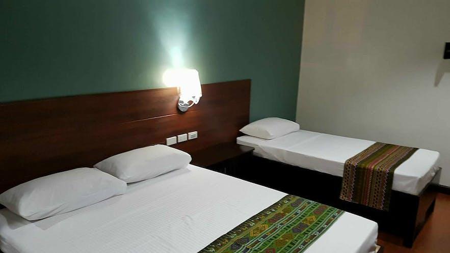 Deluxe room at W Hotel in Zamboanga