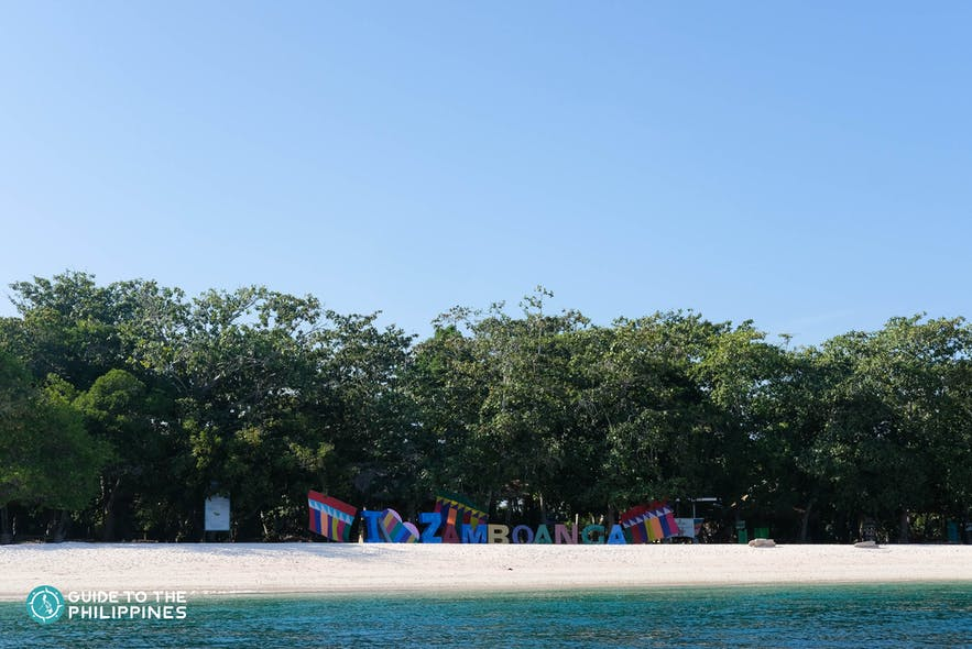 Beach in Zamboanga