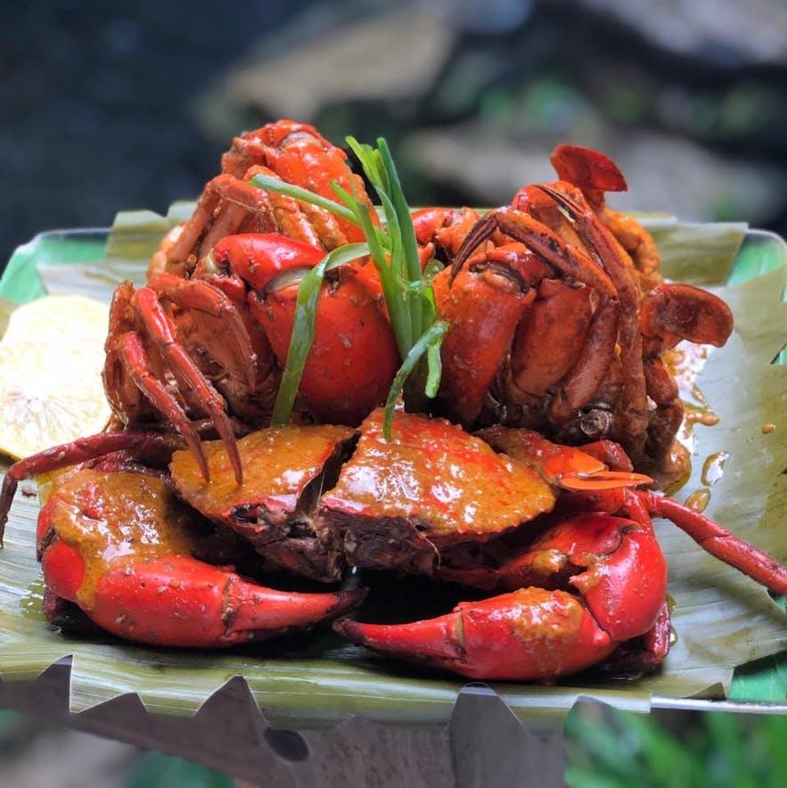 Curacha crab by Alavar Seafood Restaurant in Zamboanga