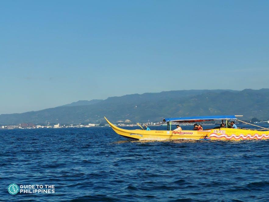 Tour boat in Zamboanga City