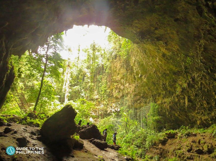 Cave at Macahambus Adventure Park in Cagayan de Oro