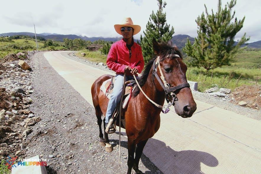 Horseback riding at Dahilayan Adventure Park in Cagayan de Oro