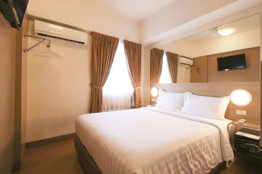 Guest room at Red Planet Hotel in Cagayan de Oro