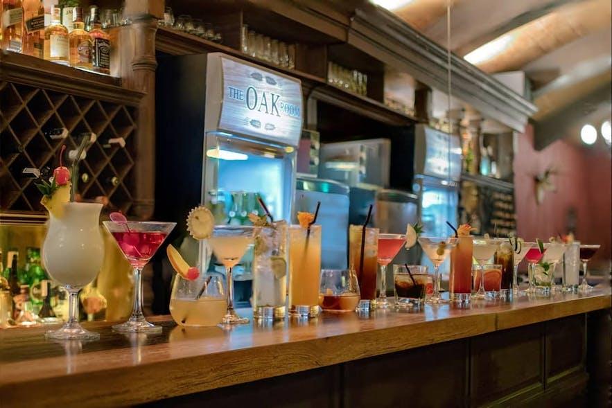 Cocktails at The Oak Room in Cagayan de Oro