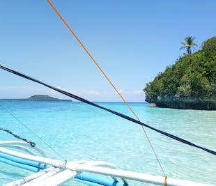 Leyte Cuatros Islas Island-Hopping with Lunch & Transfer from Ormoc