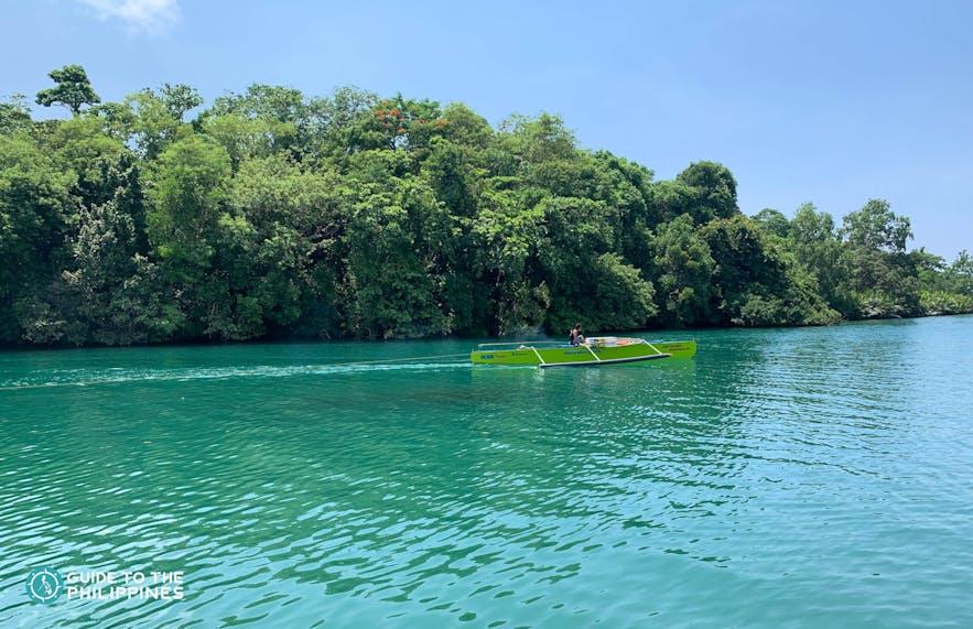 Balingasay River in Bolinao, Pangasinan
