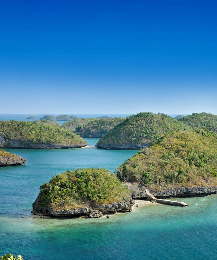 Hundred Islands National Park in Pangasinan