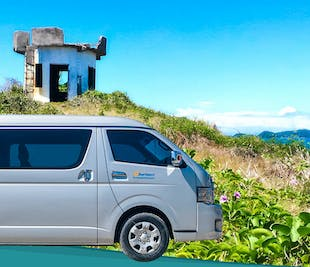 Roxas Capiz Van Rental Half Day or Whole Day with Driver