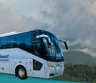 Aklan 43-Seater Bus Rental Half Day or Whole Day with Driver