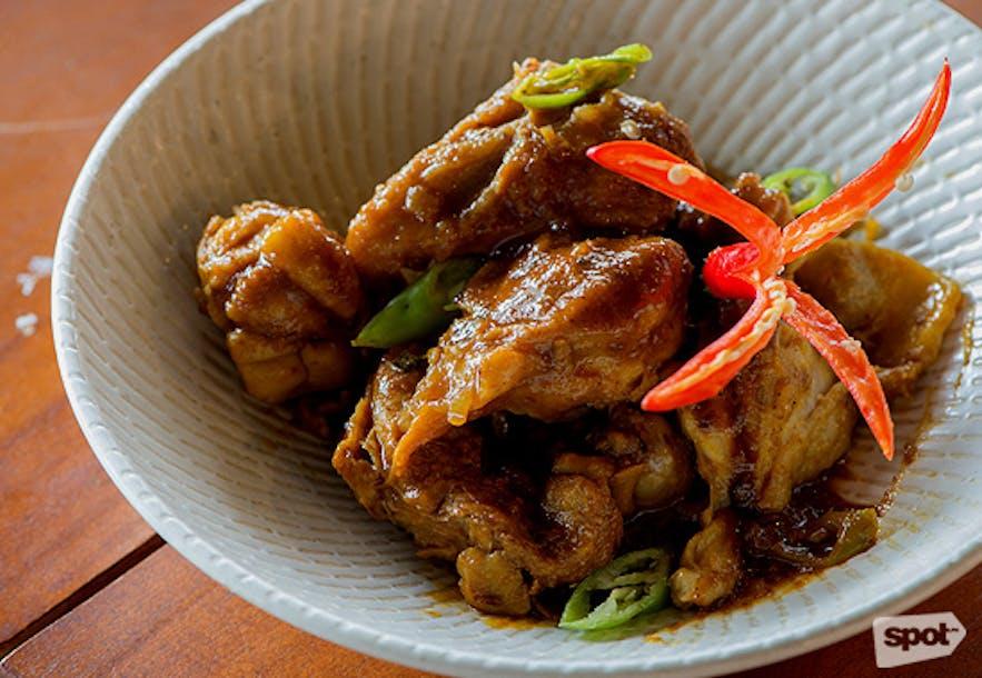 Alab Restaurant's Adobong Pula