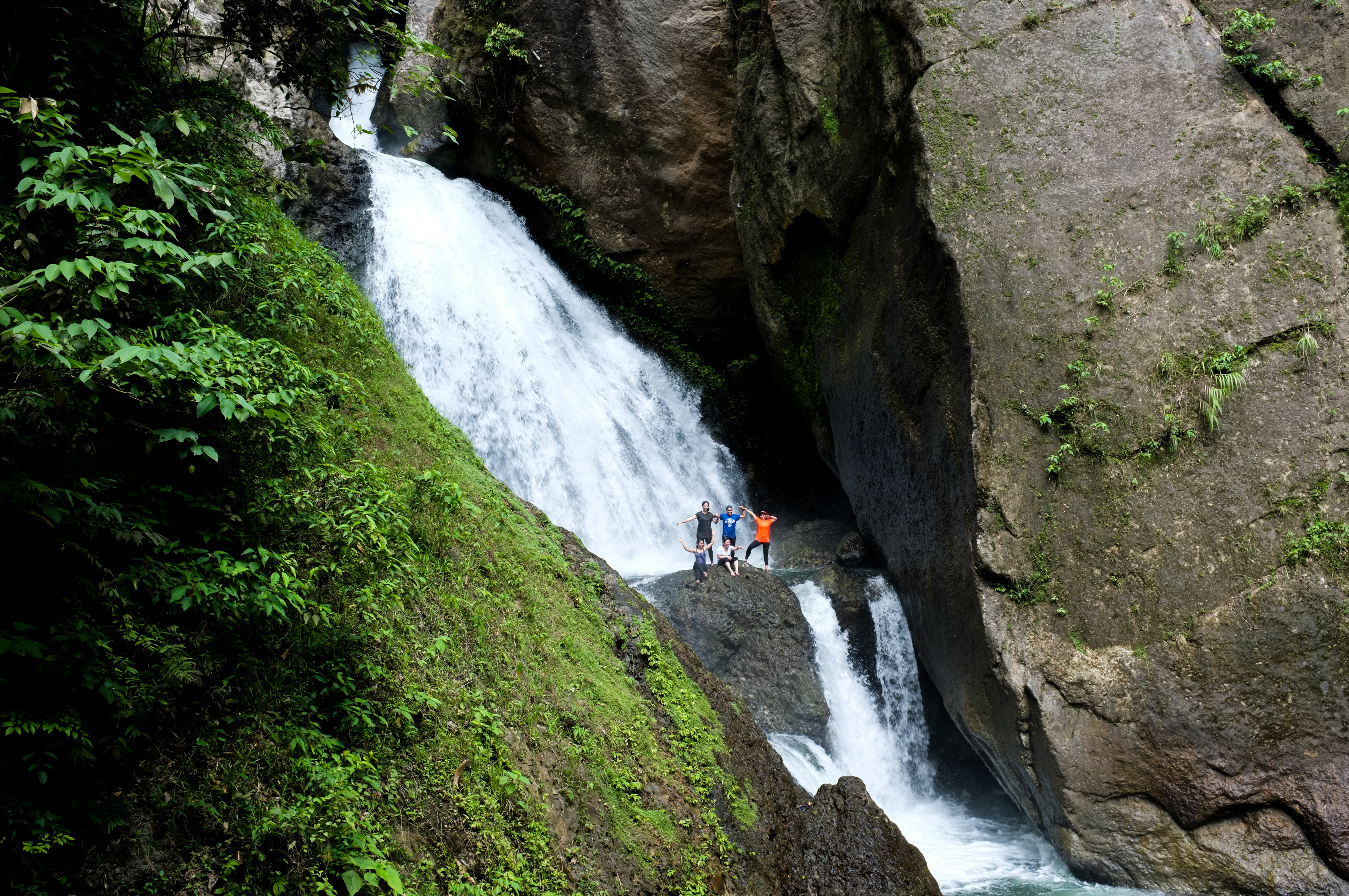 Leyte Sayahan Falls Day Tour with Lunch and Transfers from Ormoc City