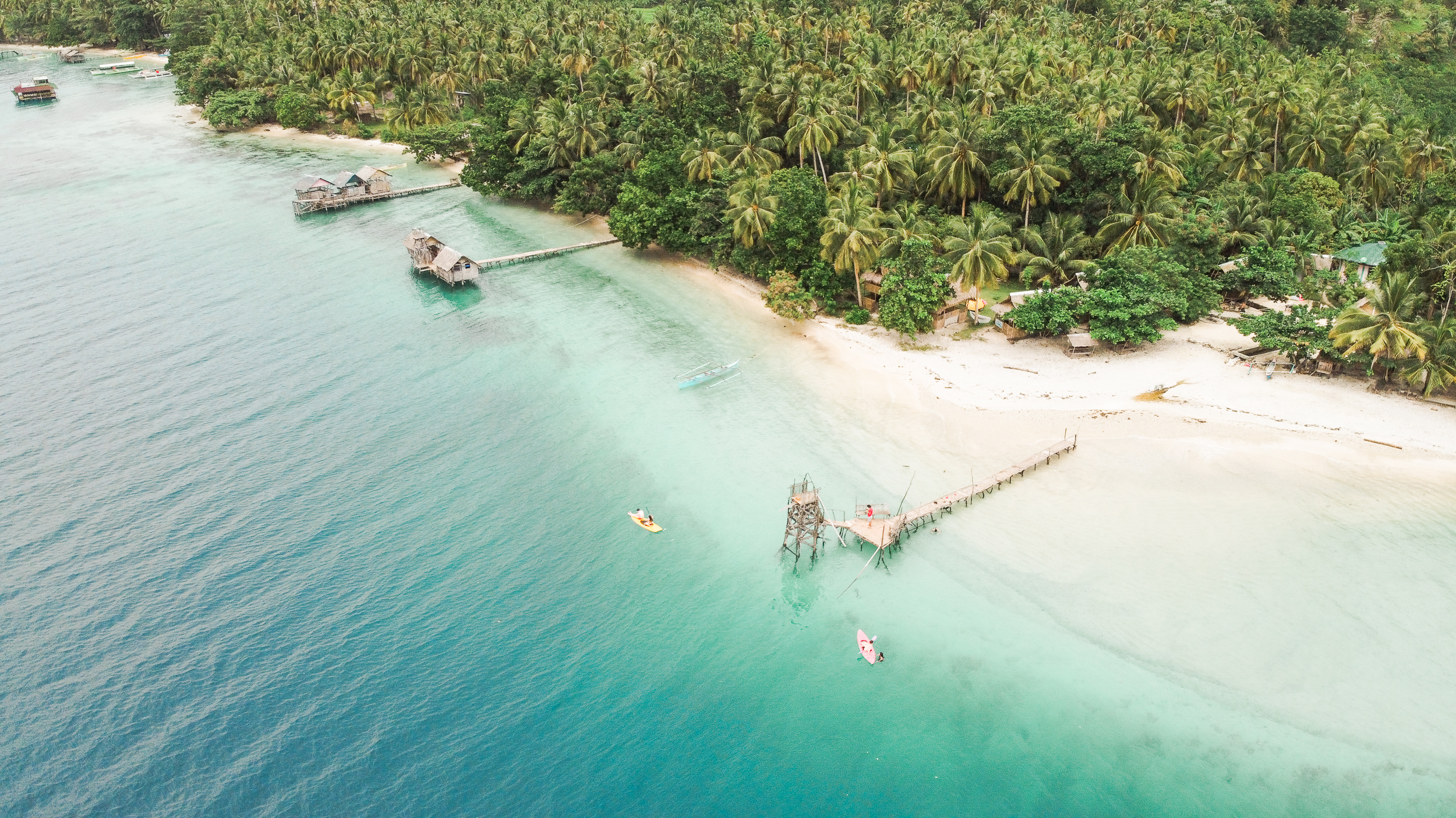 Leyte Hinunangan Twin Island Hopping Tour with Lunch & Transfers from Tacloban