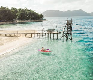 Leyte Hinunangan Twin Private Island Hopping Tour with Lunch & Transfers from Tacloban